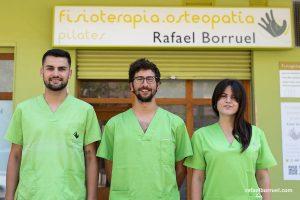 Clinica fisioterapia Rafael Borruel